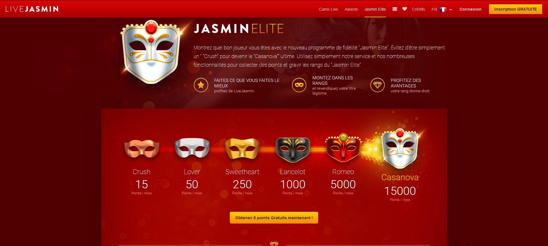 jasmin elite